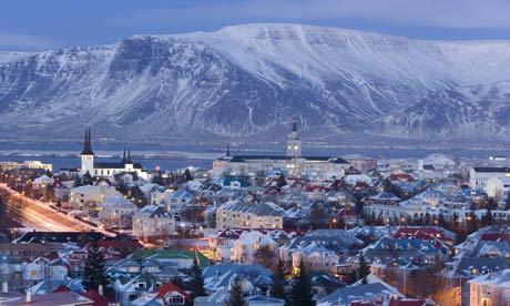 Reykjavik inverno