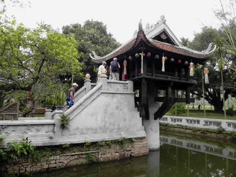 Pagoda a Pilastro Unico