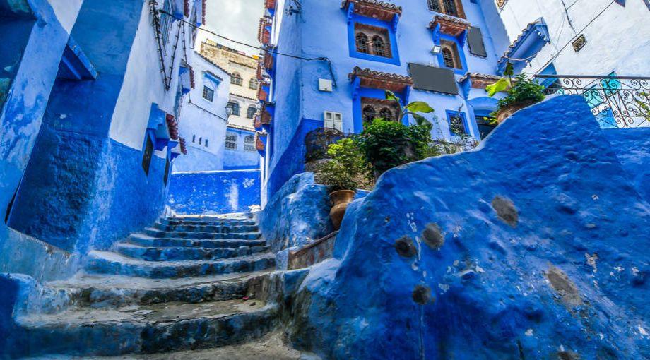 Case Blu Marocco : Quality group il blu del mediterraneo