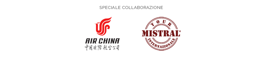 Speciale collaborazione Air China e Mistral Tour